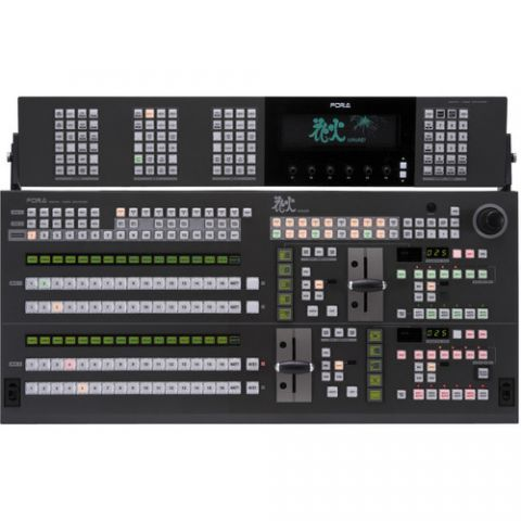 For.A  HVS-2163OU 2 M/E16 Control Panel for HVS-4000 Switcher   by For.A