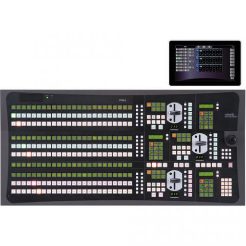 For.A  HVS-3244OU 2.5 M/E24 Control Panel for HVS-4000 Switcher   by For.A