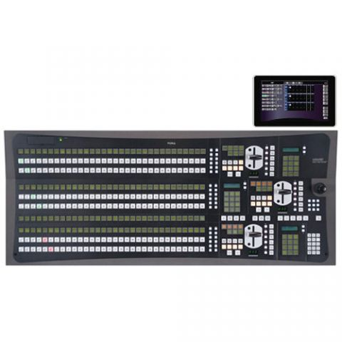 For.A  HVS-3324OU 3 M/E32 Control Panel for HVS-4000 Switcher   by For.A