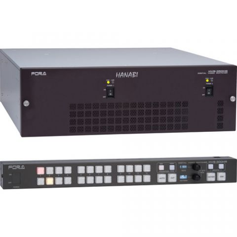 For.A  HVS-350HS Type C 1.5 M/E Switcher   by For.A
