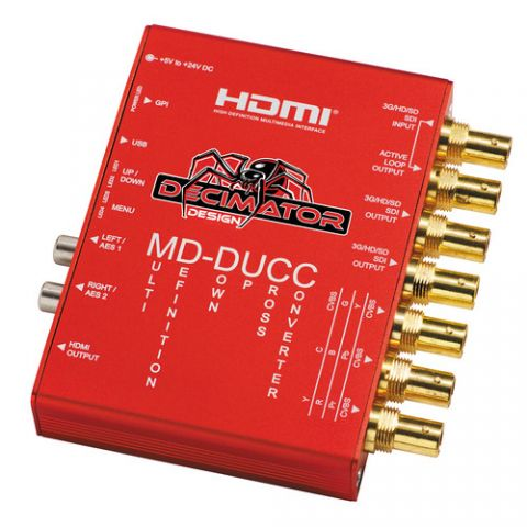 DECIMATOR  MD-DUCC Multi-Definition Down Up Cross Converter   by Decimator