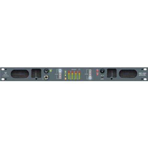 Wohler  AMP1-V2DA - Active 4-Channel Rackmount Analog and Digital Ultra-Nearfield Stereo Speaker Monitoring Unit with 26-Segment Metering   by Wohler