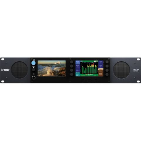 Wohler  AMP2-E16V-M 16-Channel Dolby D, E and DD+ Audio / Video Processing Monitor   by Wohler
