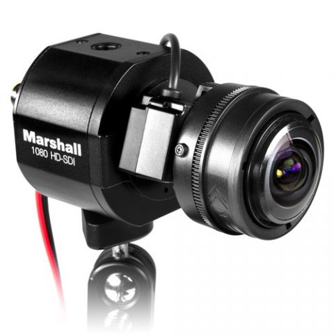 Marshall Electronics  CV343-CS 2.5MP 3G-SDI/Composite Compact Progressive Camera (Power Pigtail)   by Marshall Electronics