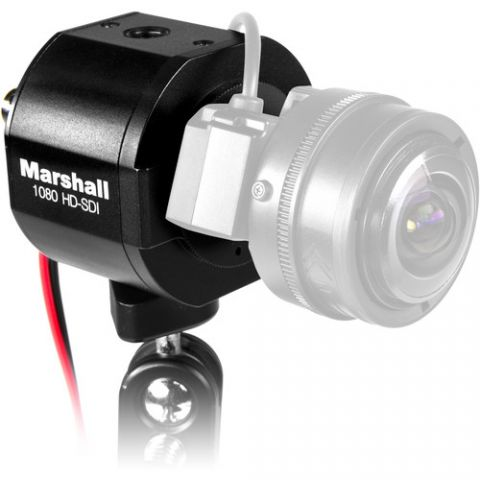 Marshall Electronics  CV343-CSB 2.5MP 3G-SDI/Composite Compact Broadcast Compatible Camera (Power Pigtail)   by Marshall Electronics