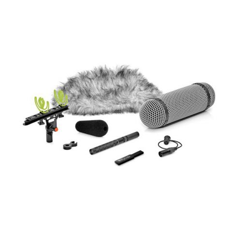 DPA 4017B-R Shotgun Microphone with Rycote Windshield by DPA