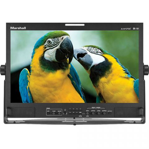 """Marshall Electronics  18.5"""" Orchid Rack Mount LCD Desktop Monitor   by Marshall Electronics"""