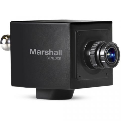 Marshall Electronics  2.5MP 3G-SDI/HDMI Compact Broadcast Camera with Interchangeable 3.7mm Lens   by Marshall Electronics