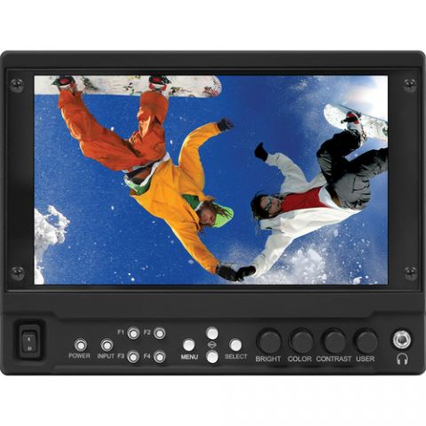 """Marshall Electronics  7"""" 1920 x 1080 Camera-Top Monitor with HDMI Input & Dual 3G-SDI Output Module   by Marshall Electronics"""