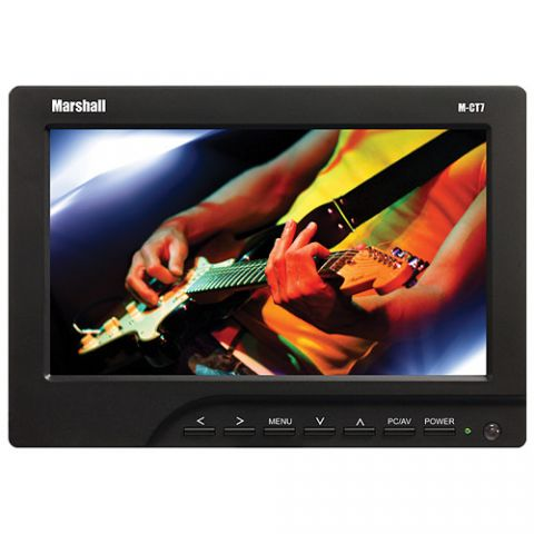 """Marshall Electronics  M-CT7 7"""" LCD On-Camera HDMI Monitor with AA Plate / Batteries / Charger   by Marshall Electronics"""