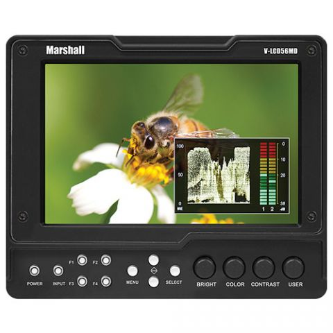 """Marshall Electronics  V-LCD56MD 5.6"""" HDMI Monitor with 3G SDI Input Module   by Marshall Electronics"""