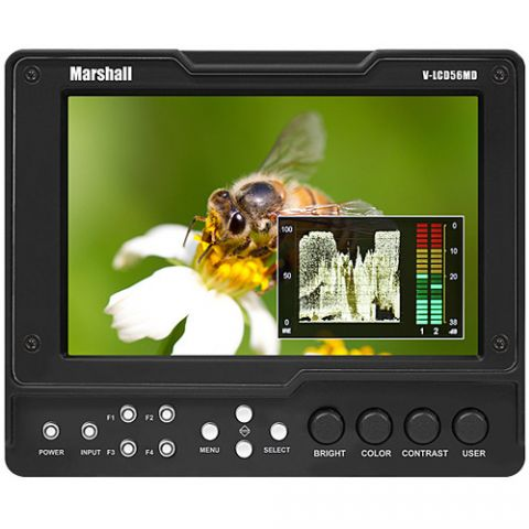 """Marshall Electronics  V-LCD56MD 5.6"""" HDMI Monitor with 3G SDI Output Module   by Marshall Electronics"""