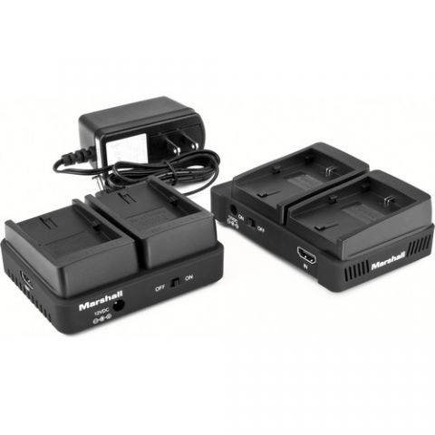Marshall Electronics  WP-1C Wireless HDMI Transmitter Receiver System (Dual LP-E6)   by Marshall Electronics