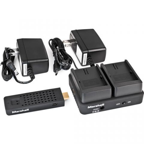 Marshall Electronics  WP-2P Wireless HDMI Transmitter Receiver System (Single VW-VBG6)   by Marshall Electronics