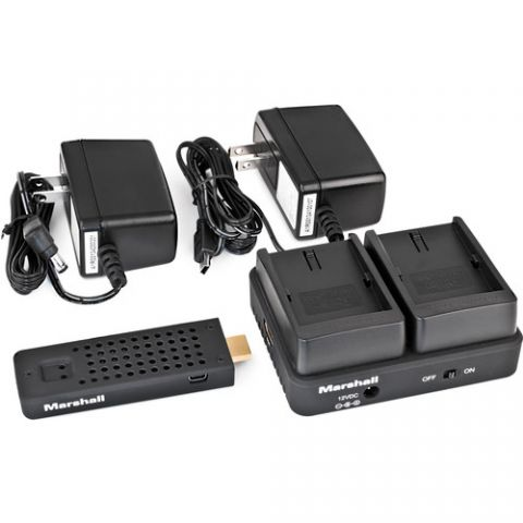Marshall Electronics  WP-2N Wireless HDMI Transmitter Receiver System (Dual EN-EL3)   by Marshall Electronics