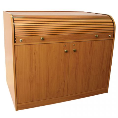 Chief Cherry Elite Roll Top Desk by Chief