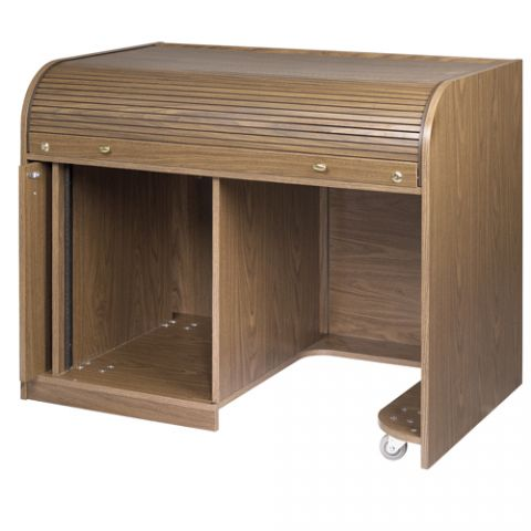 Chief Cherry Elite Roll Top Desk with Seating Cutout by Chief