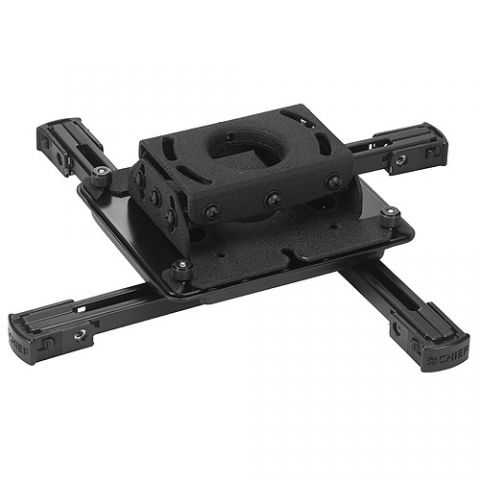 Chief Universal Projector Mount (2nd Generation Interface Technology, Black) by Chief