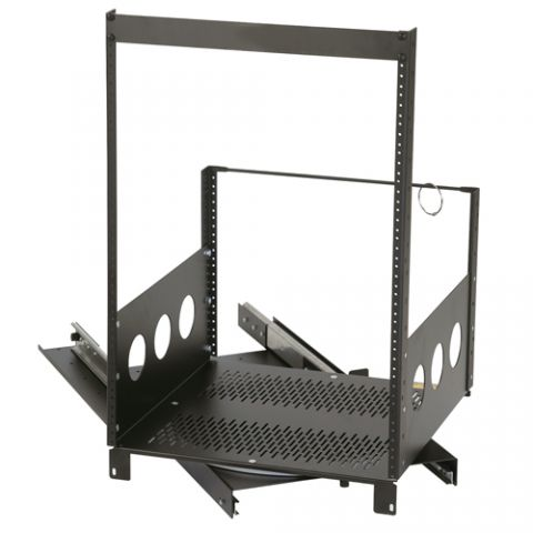 Chief 10U Extra Deep Pull-Out and Rotating Rack by Chief
