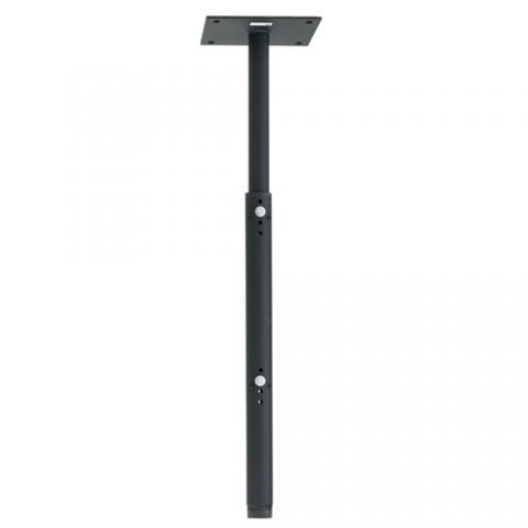 "Chief 8"" (203 mm) Ceiling Plate with Adjustable 1.5"" NPT Column, Black by Chief"