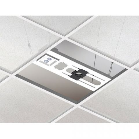 "Chief Above Tile Suspended Ceiling Kit & 3"" Fixed Pipe by Chief"