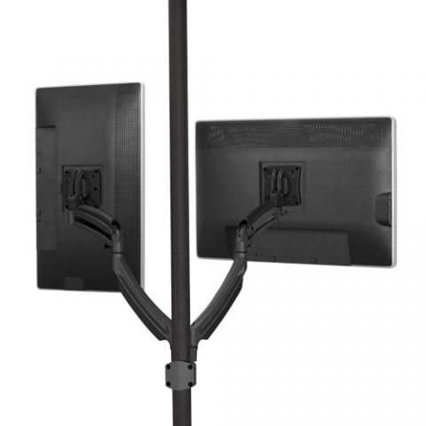 Chief Kontour'Ñ¢ K1P Dynamic Pole Mount, 2 Monitors by Chief