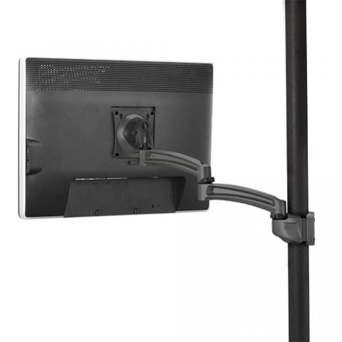 Chief Kontour'Ñ¢ K2P Pole Mount Articulating Arm, Single Monitor by Chief