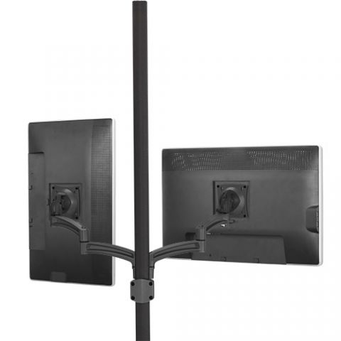 Chief Kontour'Ñ¢ K2P Pole Mount Articulating Arms, Dual Monitor by Chief