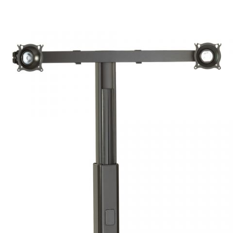 Chief Widescreen Dual Monitor Cart/Stand Accessory by Chief
