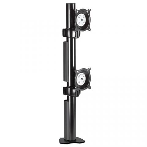 Chief Dual Vertical Desk Clamp Mount by Chief