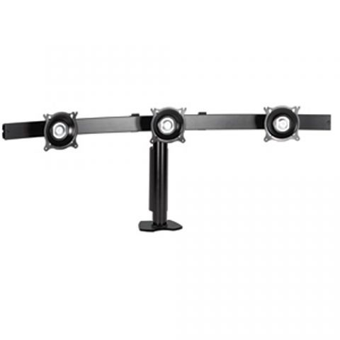 Chief Widescreen Triple Horizontal Desk Clamp Mount by Chief