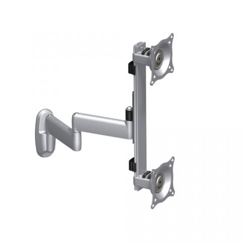 Chief Dual Arm Wall Mount, Vertical Dual Monitor by Chief