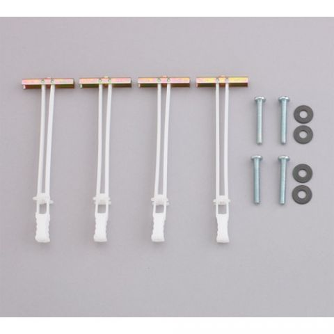Chief Metal Stud Anchor Kit - 28 Anchors by Chief