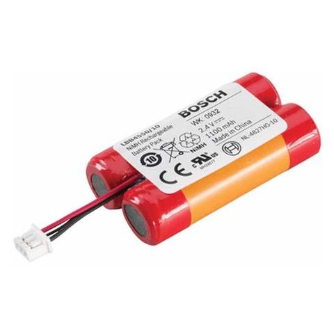 Bosch 1100mAh Integrus NiMH Battery Packs for LBB 4540 Pocket Receivers, 10 Pieces  by Bosch