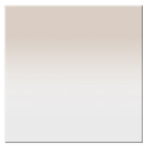 "Tiffen  4 x 4"" 1 Chocolate Soft-Edge Graduated Filter   by Tiffen"