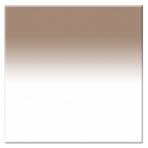 "Tiffen  4 x 4"" 3 Chocolate Soft-Edge Graduated Filter   by Tiffen"