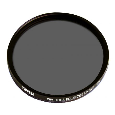 Tiffen  105C (Coarse Thread) Warm Linear Ultra Polarizing Water White Glass Filter   by Tiffen