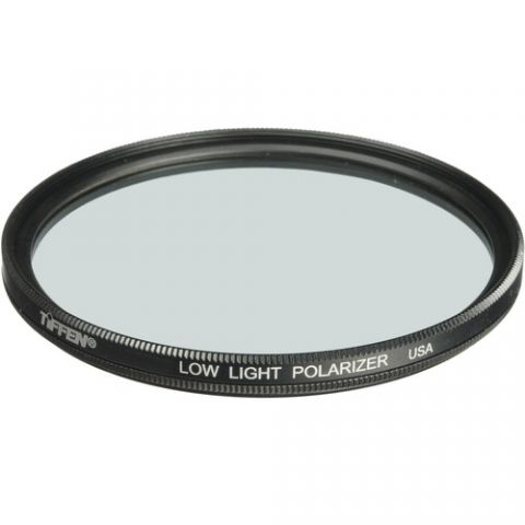 Tiffen  138mm Low Light Polarizing Glass Filter   by Tiffen