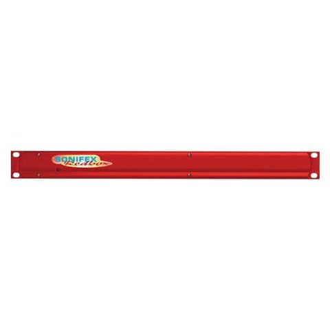 Sonifex RB-RK1 1U Front Rack Kit for Small Redboxes, Red by Sonifex