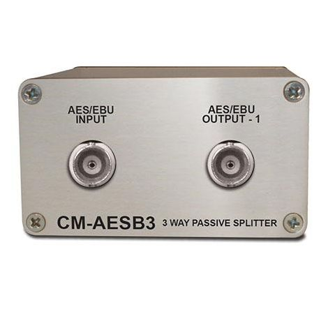 Sonifex Single 3-Way Passive AES3ID Splitter with BNC Connectors by Sonifex