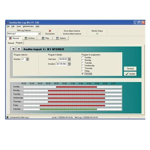 Sonifex Net-Log-Win Windows Software-5 Stream License for Net-Log Audio Logger by Sonifex