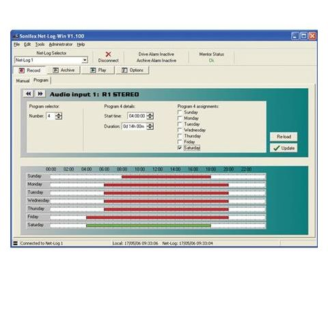 Sonifex G.729 Single Software License for One Net-Log (Up to 4 Mono Channels) by Sonifex