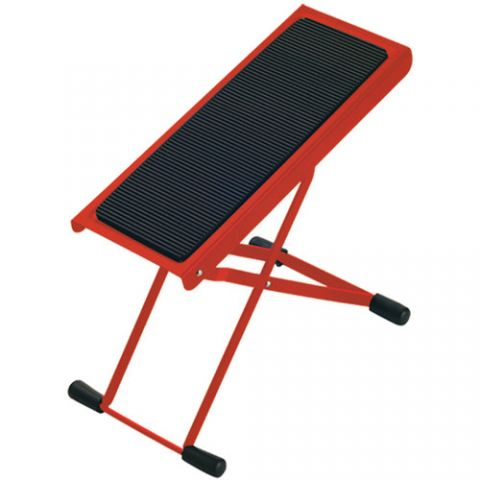K&M 14670 Height-Adjustable Footrest (Red)  by K&M