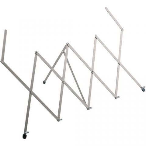 K&M 124 Table Music Stand (Nickel-Colored)  by K&M