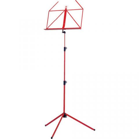 K&M 100/1 Music Stand (Red)  by K&M