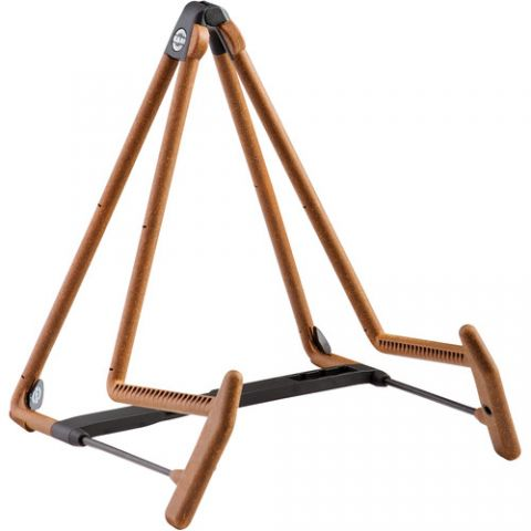 K&M 17580 Heli 2 Acoustic Guitar Stand (Cork)  by K&M