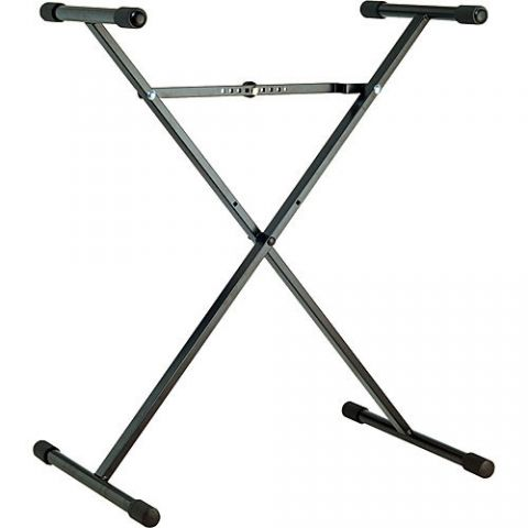 K&M 18962 Performer X-Stand Keyboard Stand (Black)  by K&M