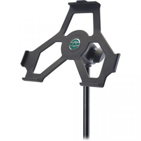 K&M iPad 2 Mic Stand Holder  by K