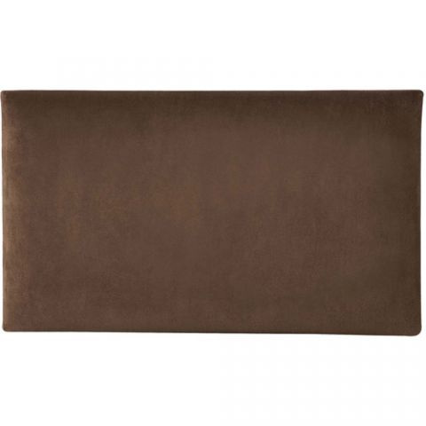 K&M 13801 Velvet Seat Cushion (Brown)  by K&M