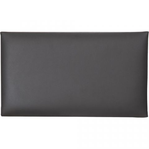 K&M 13820 Imitation Leather Seat Cushion (Black)  by K&M